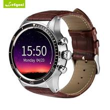 Leegoal Y3 Reloj Inteligente Quad core Bluetooth Monitor de Ritmo Cardíaco 3G wifi Reloj para Android 5.1 Smartphone GPS Inteligente