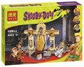 Музей БЕЛА Скуби-ду 10428 Momia tapiceria Bloque de Construccion Modelo Комплекты де Scooby Doo Maravillo Juguetes P030