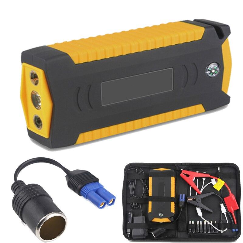 Urbanroad dispositif de démarrage pour démarreur de saut de voiture batterie externe Portable chargeur de batterie de secours essence Diesel Booster de batterie externe