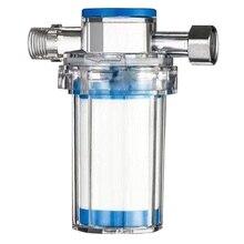 Бытовой до примесей отложения ржавчины стиральная машина водонагреватель Душ фильтр для воды передний кран очиститель воды