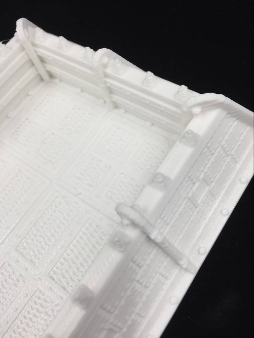 Board Gaming Accessories 3D Print 28mm Scifi Trenches DIY 12 Types 0.2mm Delicate Print Science fiction Trenches for Table Game