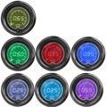 """Apoyo EE 2 """"52mm Azul Rojo 7 Colores de Luz LED de Coche Digital Tacho Tacómetro RPM Gauge Smoke Len XY01"""