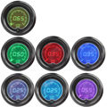 "EE support 2"" 52mm Blue Red 7Color LED Light Tachometer RPM Car Digital Tacho Gauge Smoke Len XY01"
