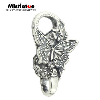 Mistletoe 925 Sterling Silver Papillon Lock Butterfly European Jewelry - DISCOUNT ITEM  4% OFF All Category