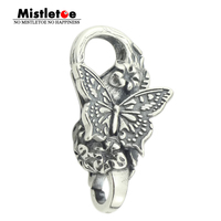 Mistletoe 925 Sterling Silver Papillon Lock Butterfly European Jewelry