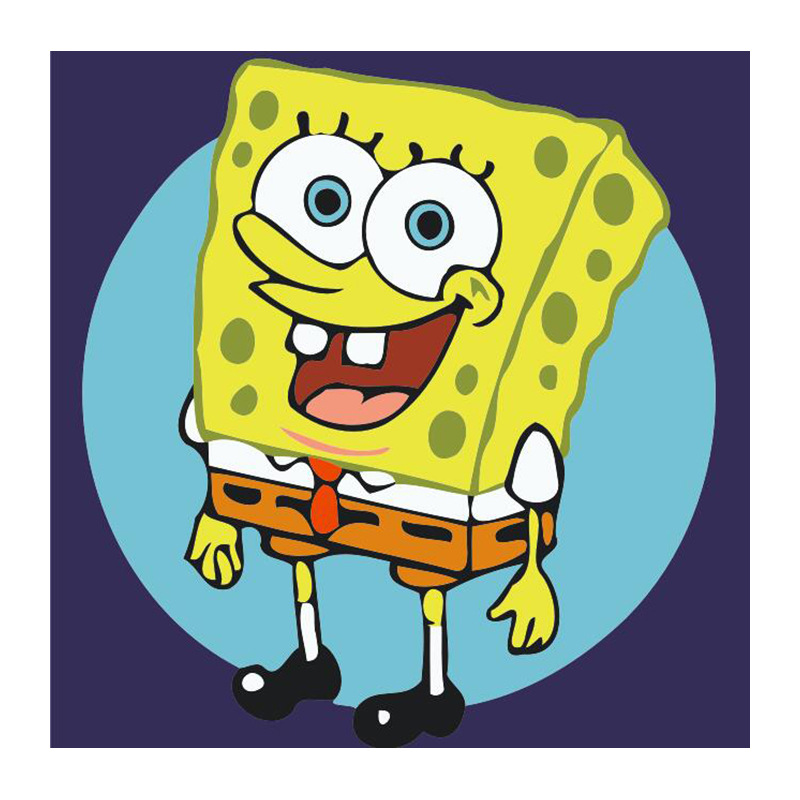 Sponge Bob Kids canvas wall art plaque//pictures set of three you choose the size