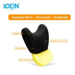 Image 4 - U образная супермягкая Автомобильная подушка для шеи LOEN, поддержка автомобильного сиденья, подголовник из пены с эффектом памяти, универсальная поддержка для путешествий, офиса, дома и автомобиля