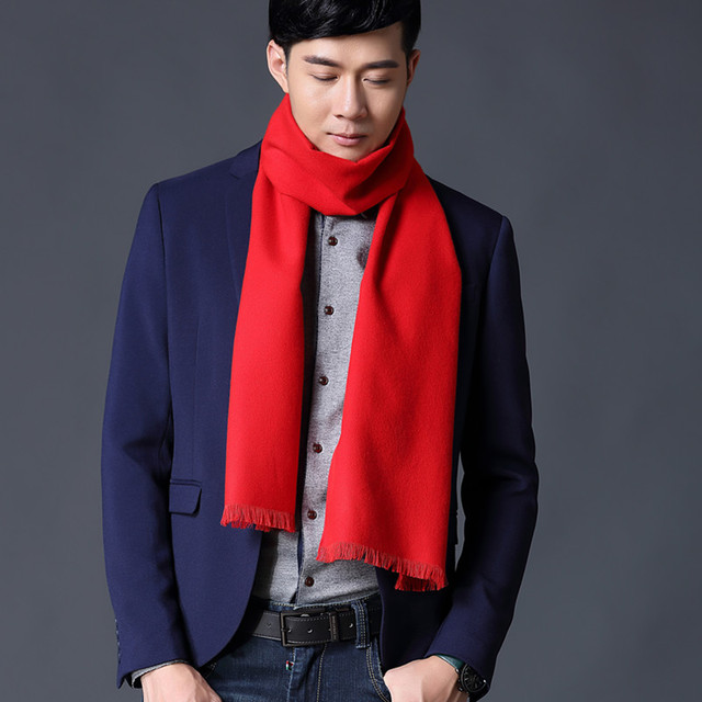 2017 Top Fashion New Adult Hijab Winter Scarf Spring And Autumn Winter Men 's Korean Wild Style Long Scarf Brand Men' S Models