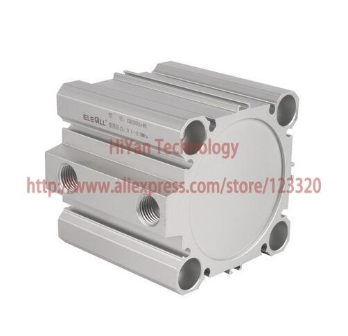CQ2B Series CQ2B63*40 Bore 63mm x 40mm stroke SMC compact Compact Aluminum Alloy Pneumatic Cylinder