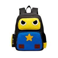 Children School Bags Nylon Cartoon Robots Kindergarten Girls Kids boy Baby Children Backpacks Primary Schoolbags
