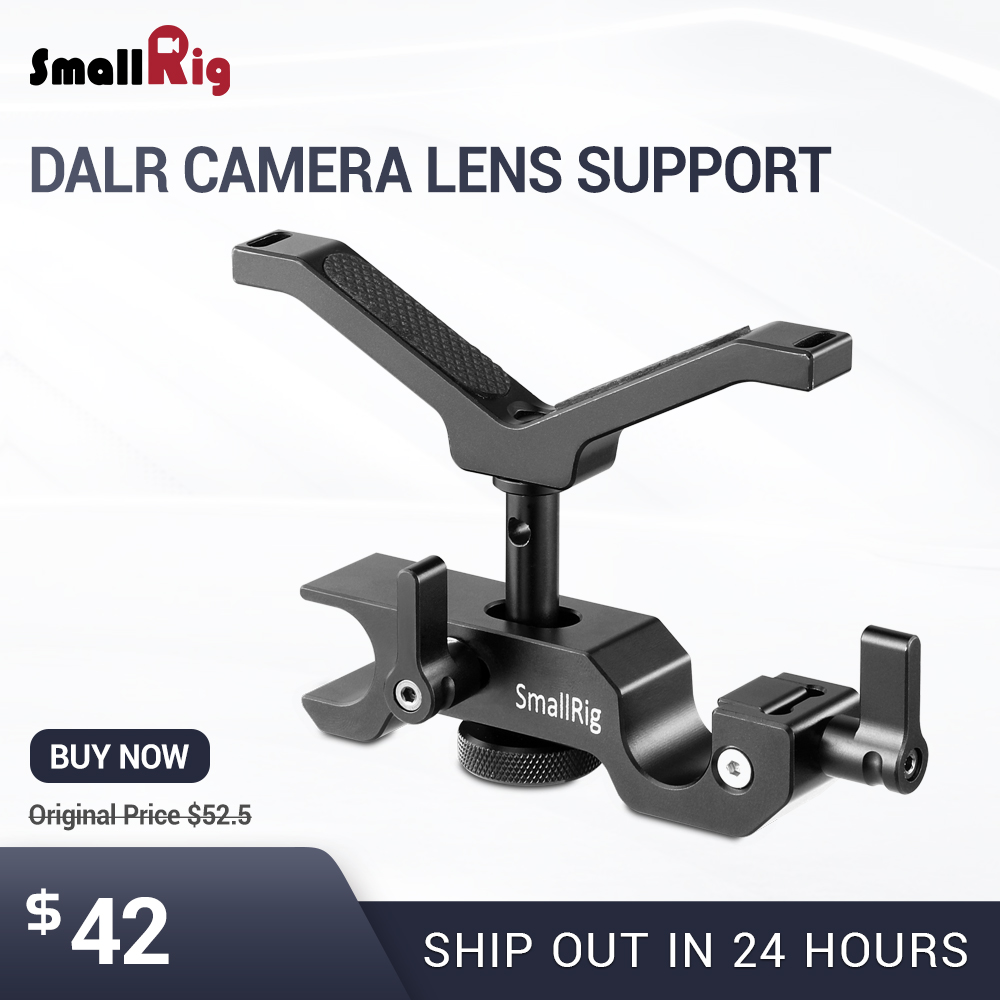 SmallRig Adjustable DSLR Camera Rig 15mm LWS Universal Lens Support For Follow Focus 2152