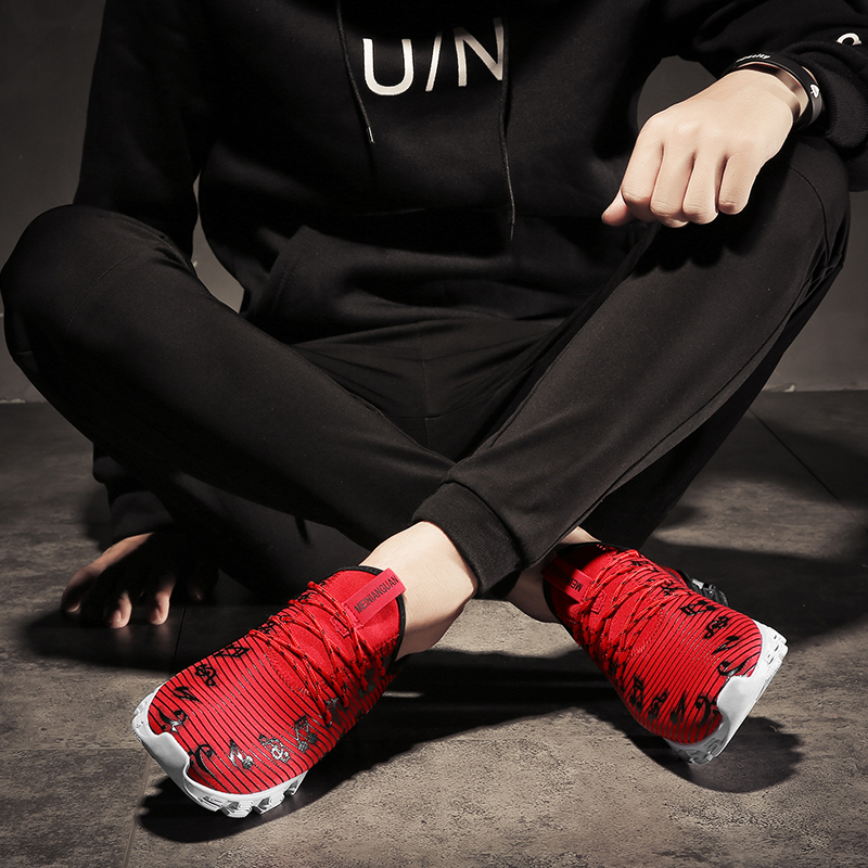 2e3e09d1f02d New Arrival Men s Casual Shoes Stripe Music Note Painting Shoes New Design  S Sole Trainer Workout shoes for men-in Men s Casual Shoes from Shoes on ...