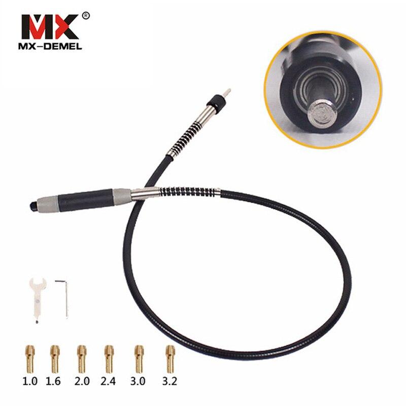 MX-DEMEL Rotary Grinder Werkzeug Dremel Flexible Welle Passt für 400 watt Dremel Rotary Werkzeuge 110 cm mit 6 Chuck für dremel Zubehör
