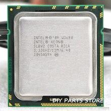 INTEL XONE W3680 ШЕСТЬ основных 3.33 МГЦ LeveL2 8 М 4 ядро Turbo Частота 3600 РАБОТА ДЛЯ lga 1366 montherboard