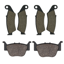 Cyleto for HONDA TRX450 TRX 450 TRX450R TRX450ER 2004 2005 2006 2007 2008 2009 2010 - 2014 Motorcycle Front and Rear Brake Pads motorcycle front and rear brake pads for honda vt250fl spada castel 1988 1990