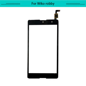 20pcs/lot Touch for Wiko Robby Touch Screen Glass Digitizer Touch Panel Replacement Free Shipping