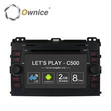 Android Car DVD Player for Toyota Land Cruiser Prado 120 2002 2003 2004 2005 2006 2007 2008 2009 GPS Navigation Radio Audio PC