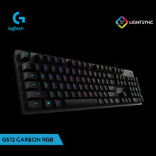 Keyboard GAMING Gamer Keyboard Logitech G512 Karbon RGB Gaming Kabel Lampu Latar Keyboard Mekanik L/T Switch Teclado(China)