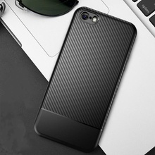 Carbon Fiber Accessories Case For iphone 7 8 plus i
