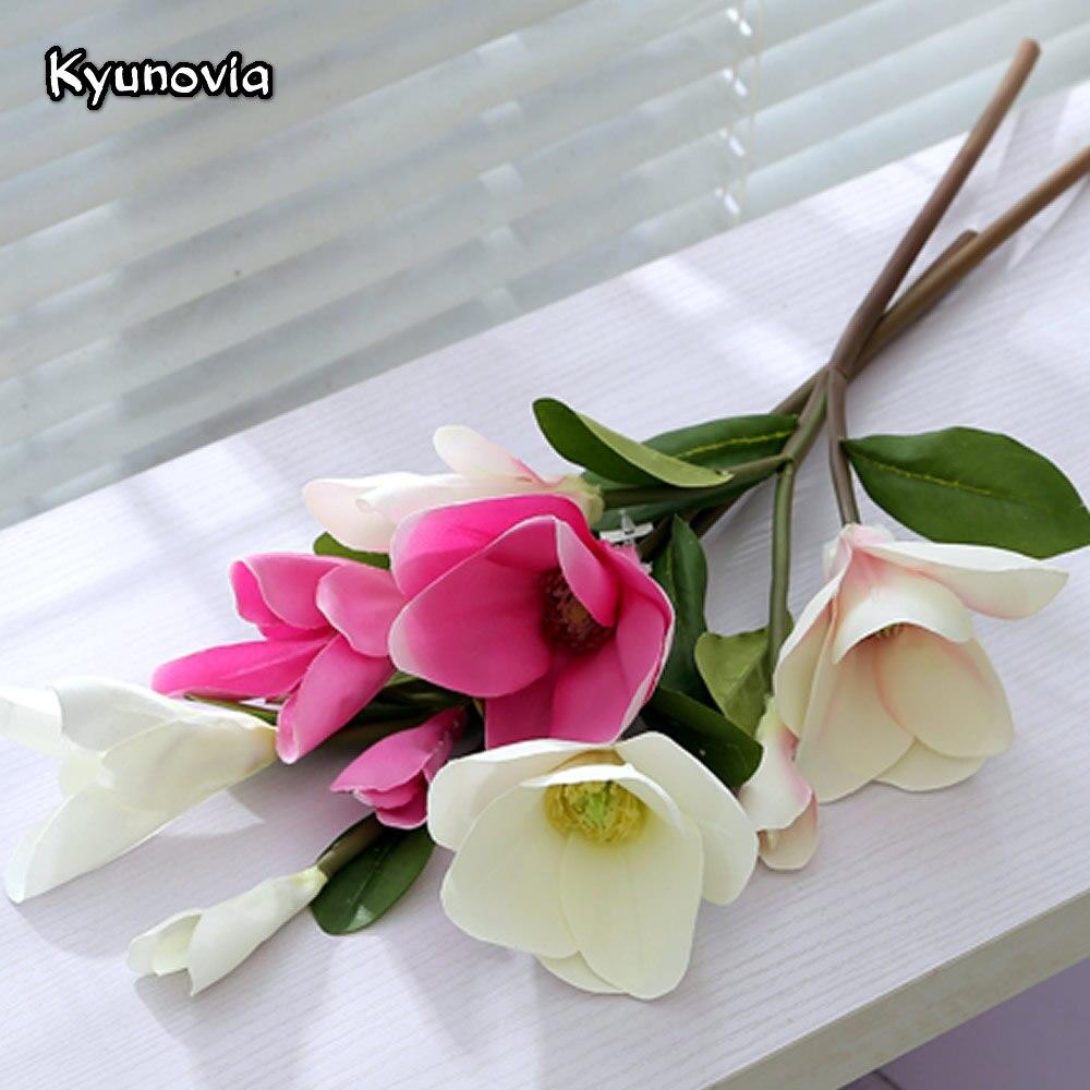 Kyunovia Simple Style Orchid Fake Flower Fleur Wedding Home Decor