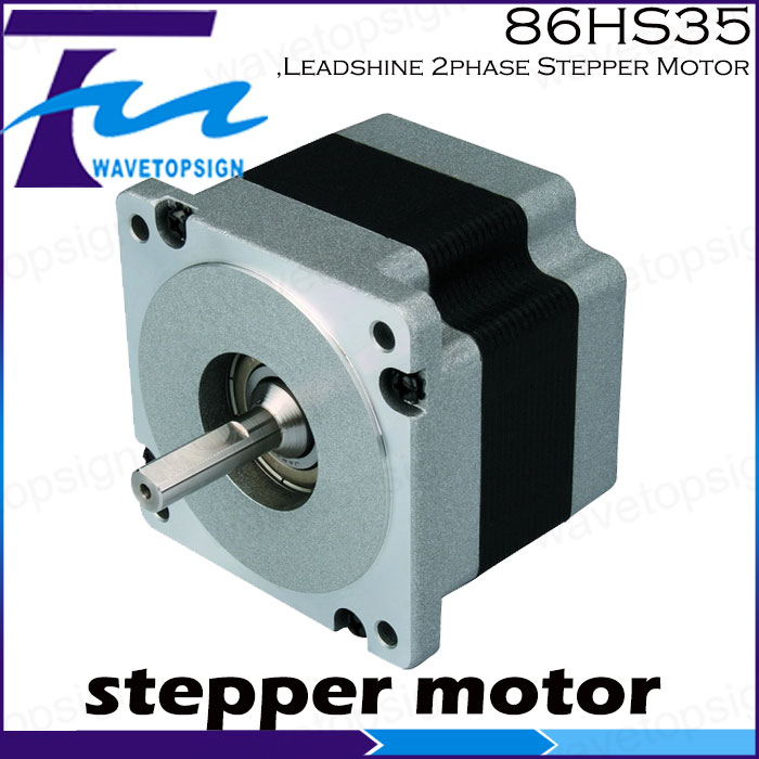 ,Leadshine 2phase Stepper Motor 86HS35/Cnc Router/Laser engraving Machine leadshine 3 phase stepper motor 863s68h 3phase step motor laser engraver machine cnc router