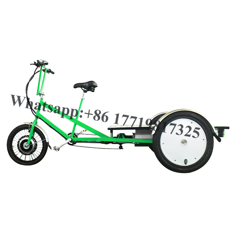 T01B Three Wheels Bike Tricycle Electric Cargo Bicycle Transport Trike For Loading Vehicle