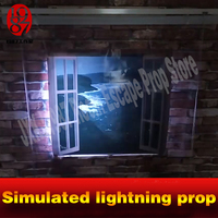 Takagism Game Props Real Life Prop Simulated Lightening Prop Simulate Lightning And Thunder For Room Escape