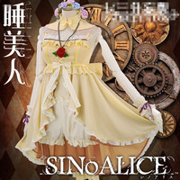SINoALICE dead Alice pajamas nighty nightdress dressing gown shot dress women dress pajamas cosplay costume