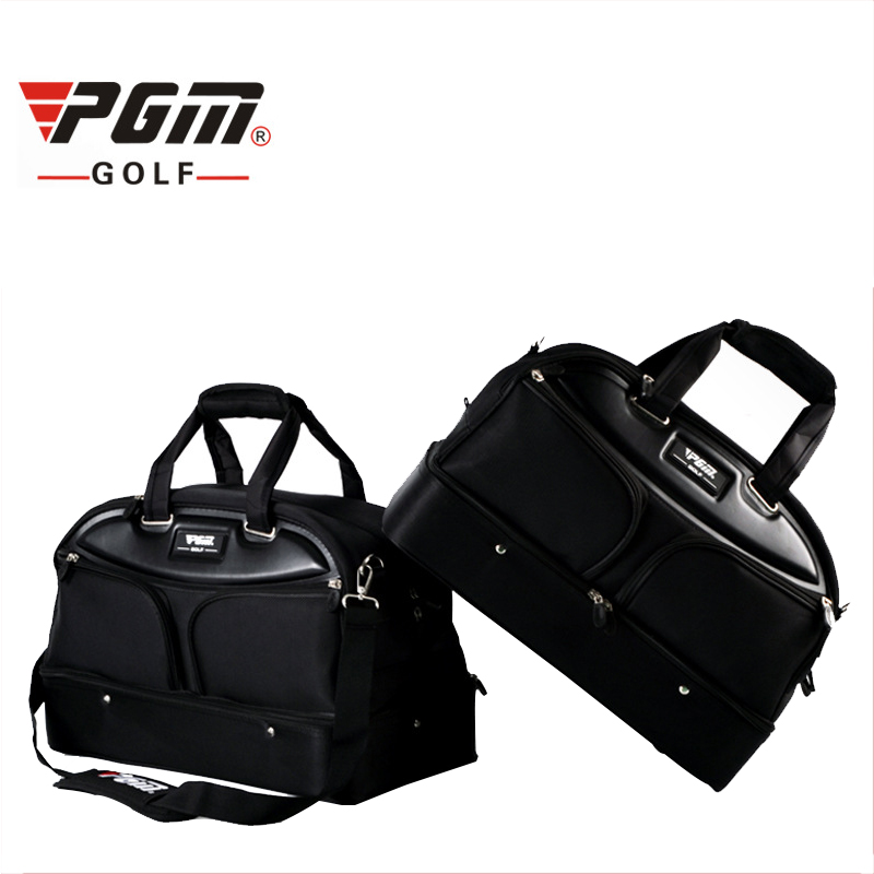 Pgm Golf Clothing Bag Waterproof Nylon Top Quality Golf Shoes Bag High Capacity Double Layer Travel Apparel Bags A976