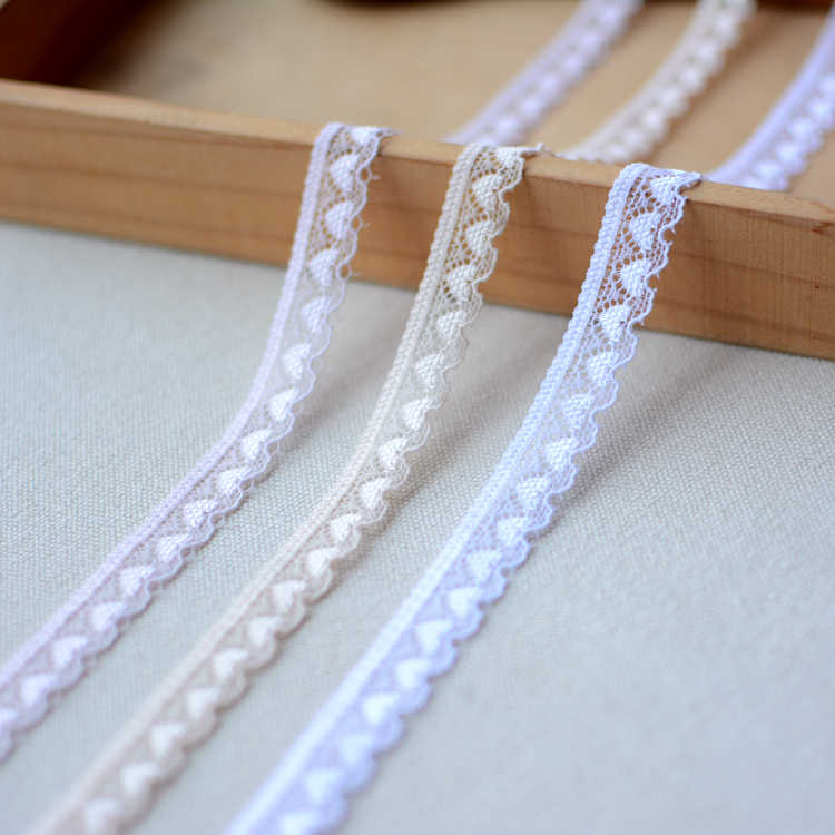 Lace Ribbon Lovers Elastic Lace Trim Fabric Applique Wedding Dress Sewing Accessories Trimmings For Clothing dentelle LA43