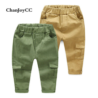 2017 Hot Sale Spring Autumn New Fashion Children S Pants Boy And Girl Comfortable Cargo Pants
