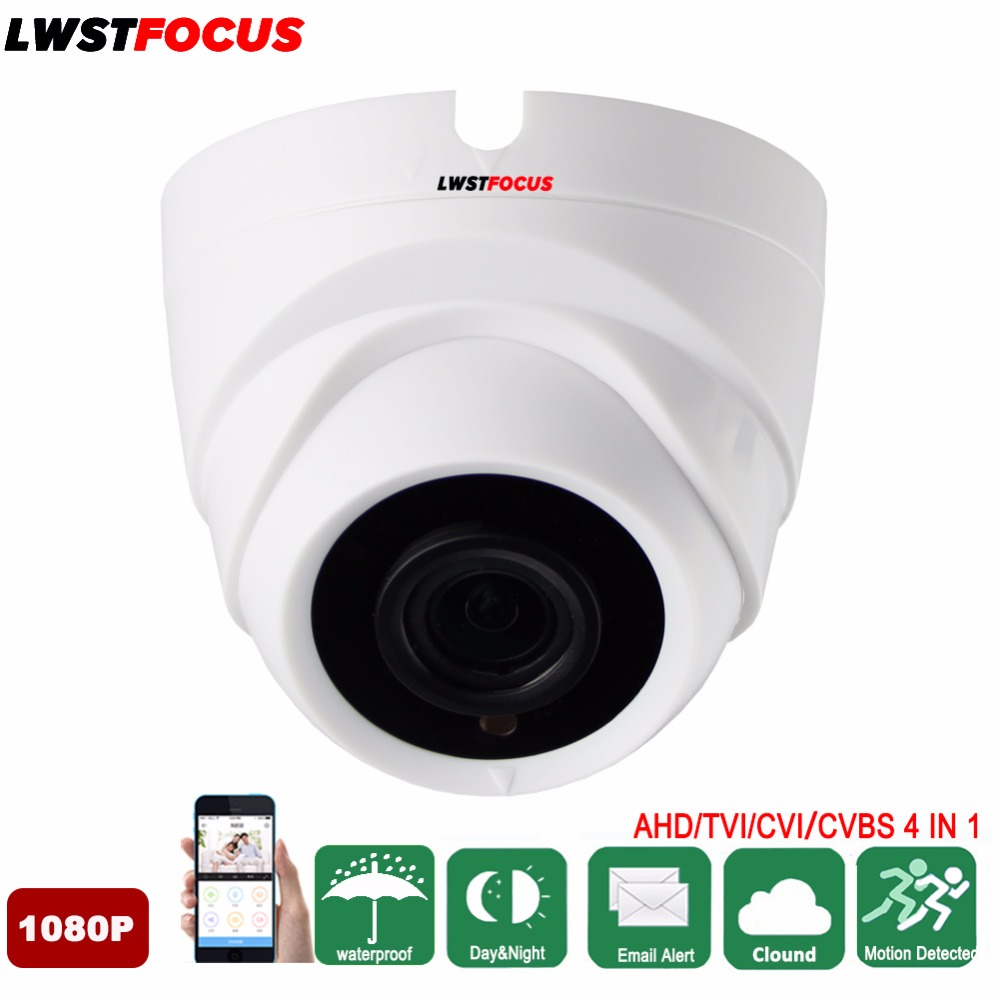 LWSTFOCUS Plastic Mini IR AHD Dome Camera Video Security Camera Indoor CCTV 3000TVL CMOS for Fixed Lens IR CUT 20M night vision hd 1200tvl cmos ir camera dome infrared plastic indoor ir dome cctv camera night vision ir cut analog camera security video cam