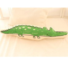 3D Dimensional simulation crocodile plush toy large 70cm soft long throw pillow,cushion birthday present Xmas gift c835