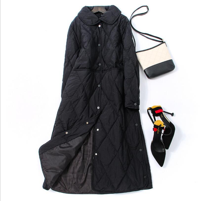 Women Down Jacket Winter Jacket Women White Duck Down Coat 2018 Warm Parka Female Long Down Jacket Quilted Coat