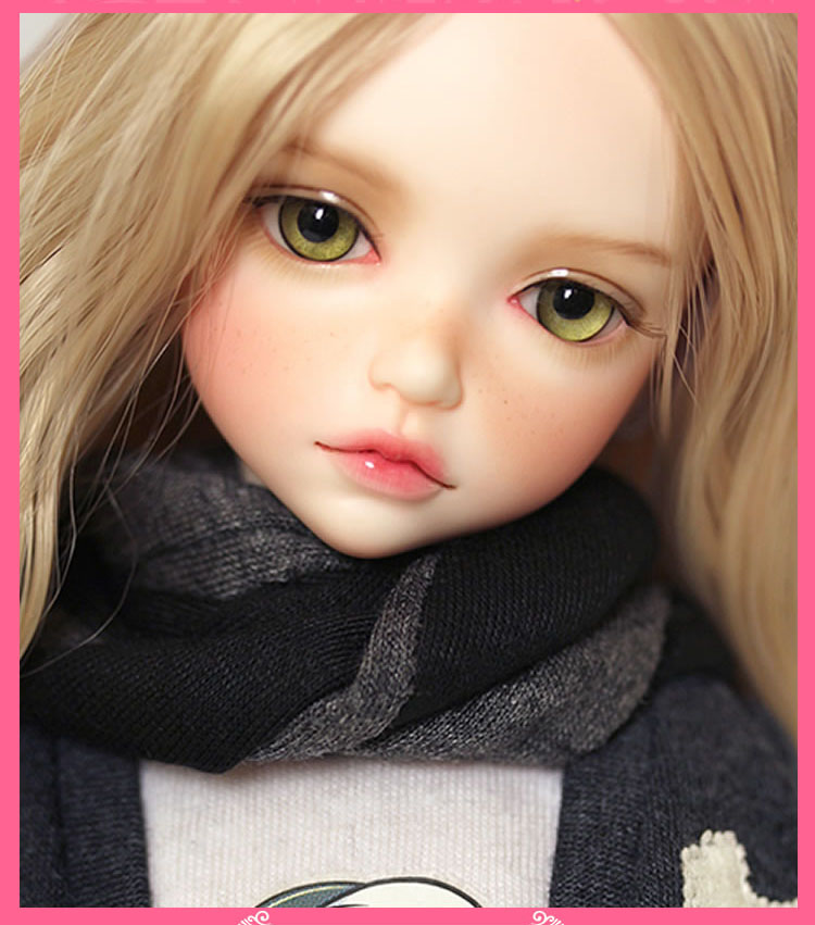 16 Scale Nude Bjd Kid Girl Yosd Joint Doll Resin Figure -1780