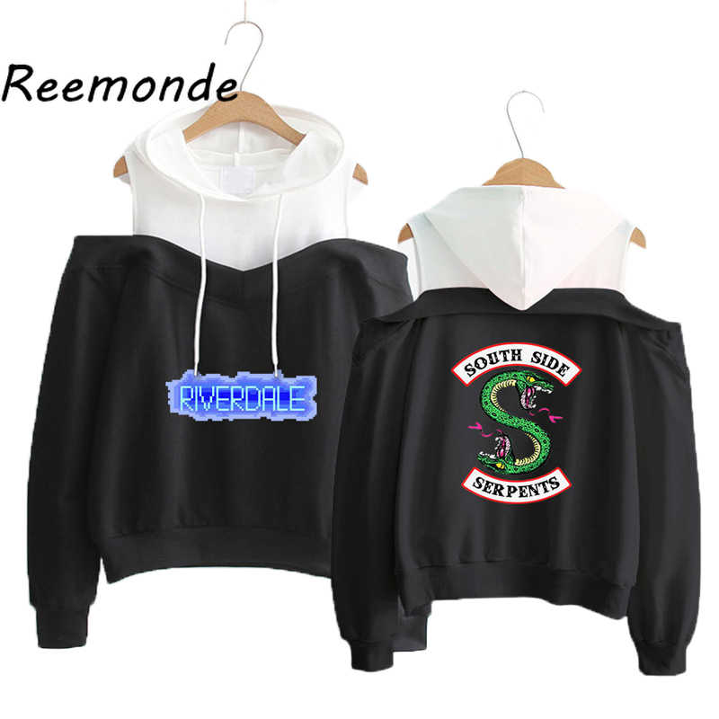 South Side Serpents Riverdale Hoodies Sweatshirts Women Clothes Streetwear Casual Riverdale SouthSide Pullover Hooded Tops 2019