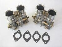 2pcs Lot 40 Idf 40idf Carburetor With Air Horns Gasket For Bug Beetle Vw Fiat Porsche