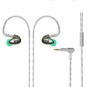 Image 5 - 2019 NICEHCK DT300 Pro 3BA Drive In Ear Earphone 3 Balanced Armature Detachable Detach MMCX Cable HIFI Monitor Sports Earphone
