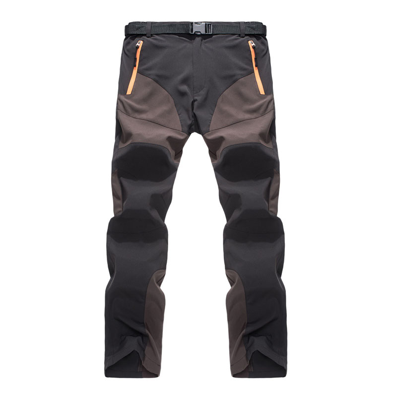 Mens Straight Pant Quick Dry Pants Men Soft Shell Regular Pants Casual Long Trousers 2018 Autumn