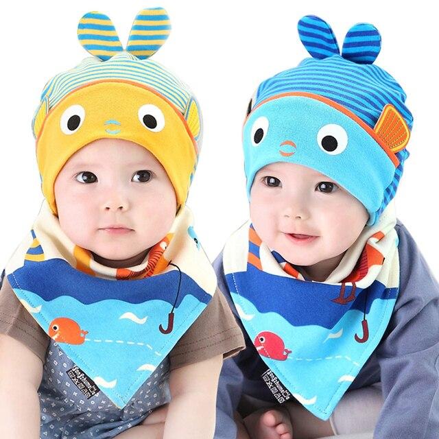 Baby Mütze Bib Set für Jungen Mädchen Kinder 5 24 monate Streifen ...