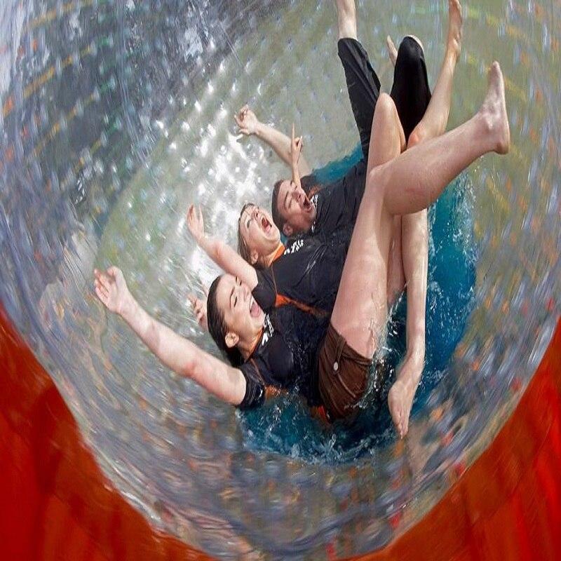 Boule de zorb 2.5 M diamètre boule de hamster humain 0.8mm matériau PVC jeu de plein air