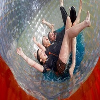 zorb ball 2.5 M diameter human hamster ball 0.8 mm PVC material outdoor game