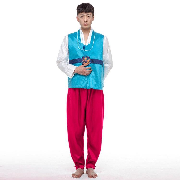 Muškarci Korejski Hanbok Muška Koreja Tradicija Kostim 4 Boja Hanfu - Nacionalna odjeća - Foto 4