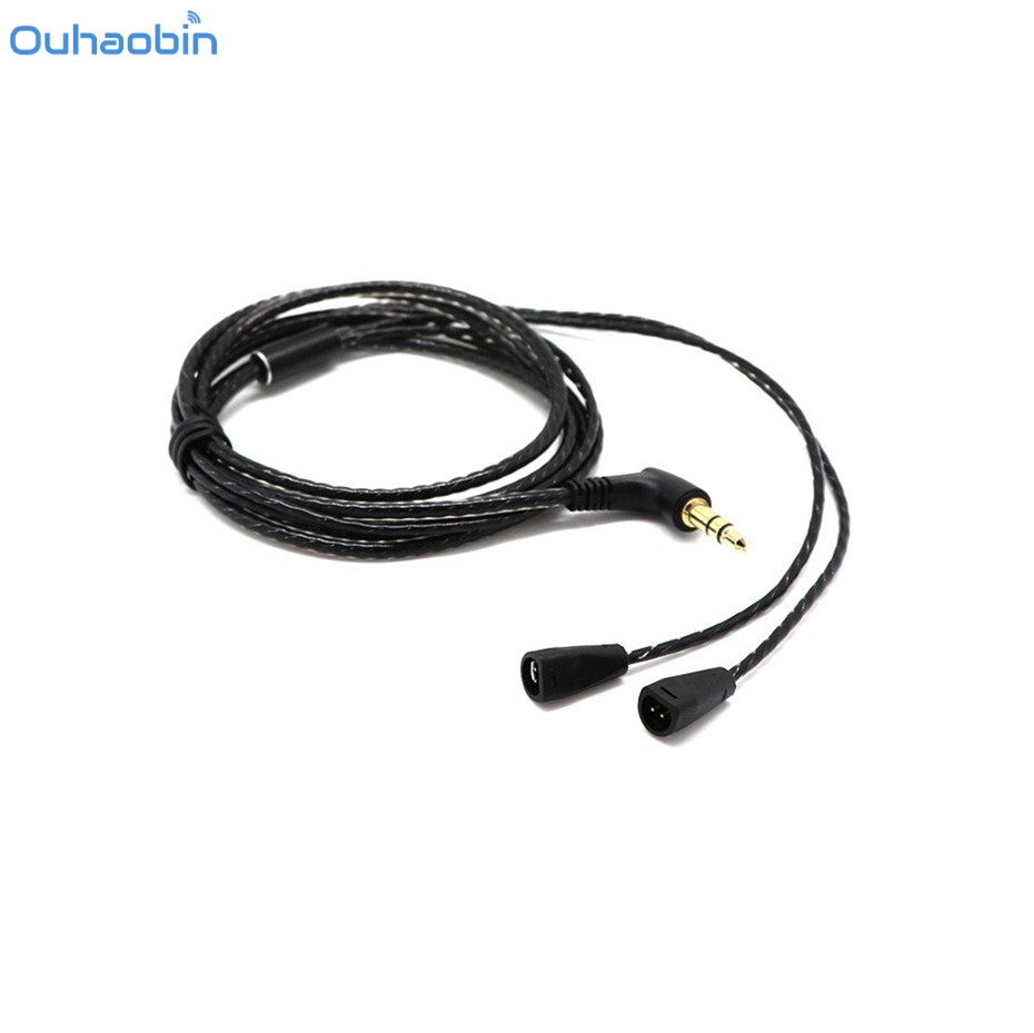 ouhaobin 3 5mm diy audio cable high quality snake print audio cable headphone earphone headset