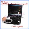 На Базе ПК Пульсоксиметр SPO2 датчик/зонд + Бесплатное Программное Обеспечение