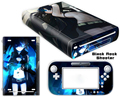 Consola Protector Conjunto Completo Engomada de La Piel de alta Calidad + controlador de etiqueta para el Wii U Envío Rápido