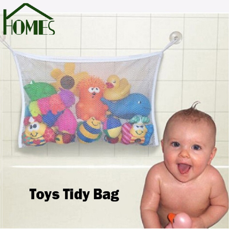 5pcs Creative Folding Eco Friendly Baby Bathroom Mesh Bath Toy ...