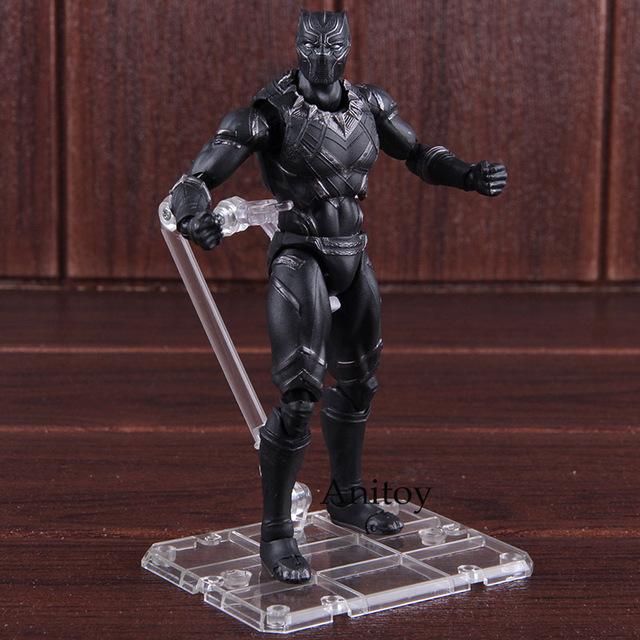 Hot Toys Captain America Civil War Black Panther Marvel Toys PVC Marvel Legends Action Figure Collectible Model Toy 16cm