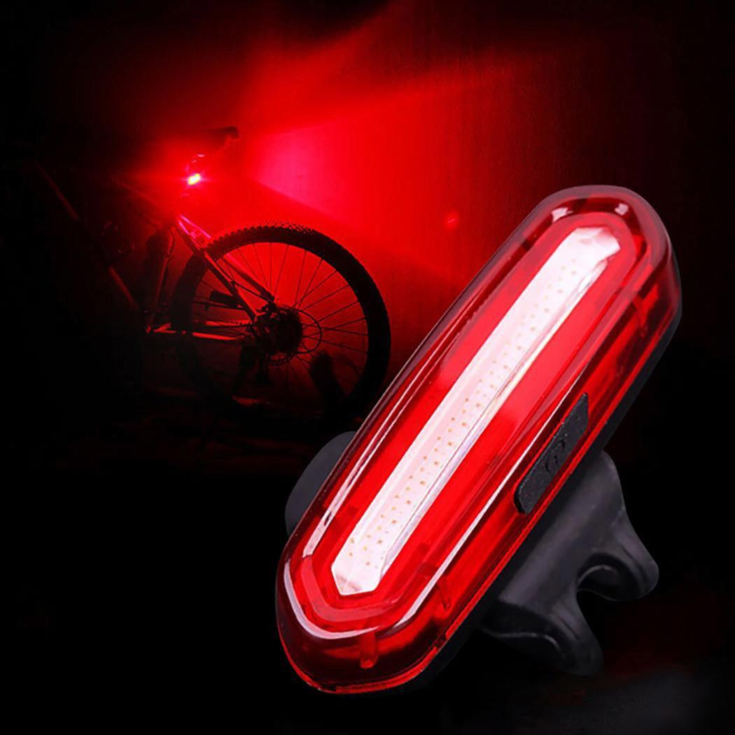 New Bicycle Lamp 120 LM Rechargeable LED USB Mountain Bike Tail Light