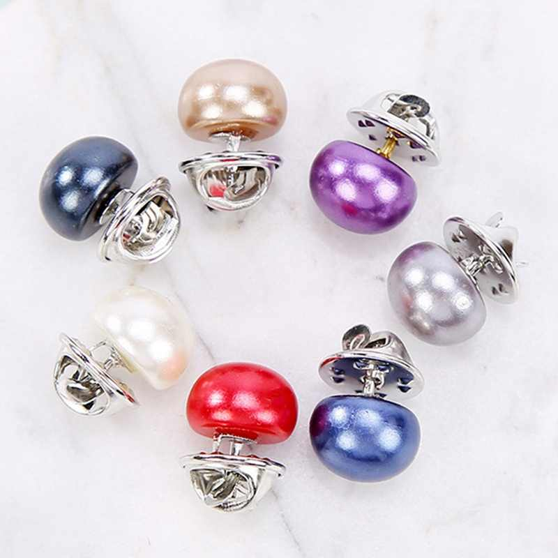Imitation Pearl Brooches Pin Wedding Bridal Scarf Clip Lapel DIY Pin Gift For Women Clothing Accessories Wholesale